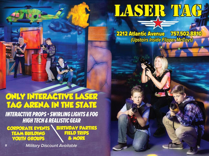 Laser Tag Virginia Beach Monster Coupon Books